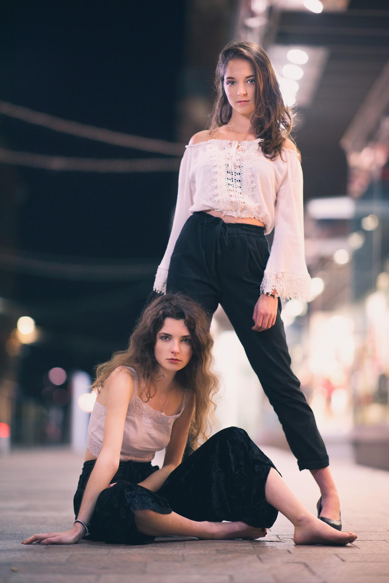 Photo Margaux et Solene