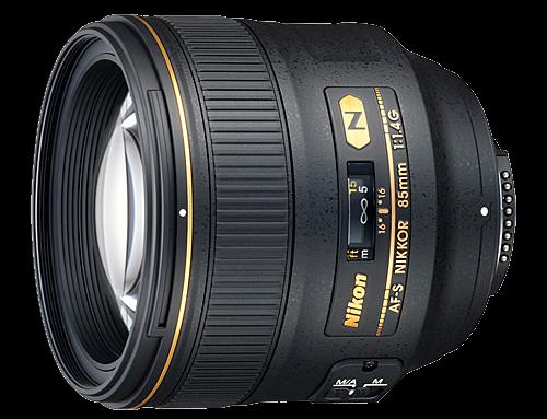 Nikon AF-S 85 mm f/1,4G